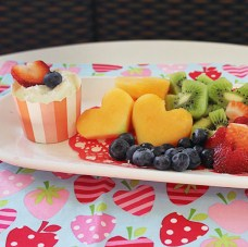 Hearty fruit salad